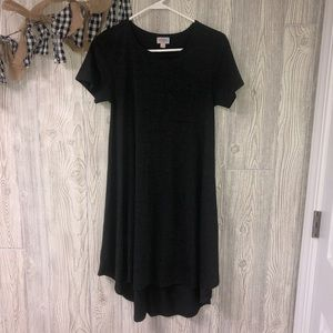 Lularoe dark gray carly dress size XXS